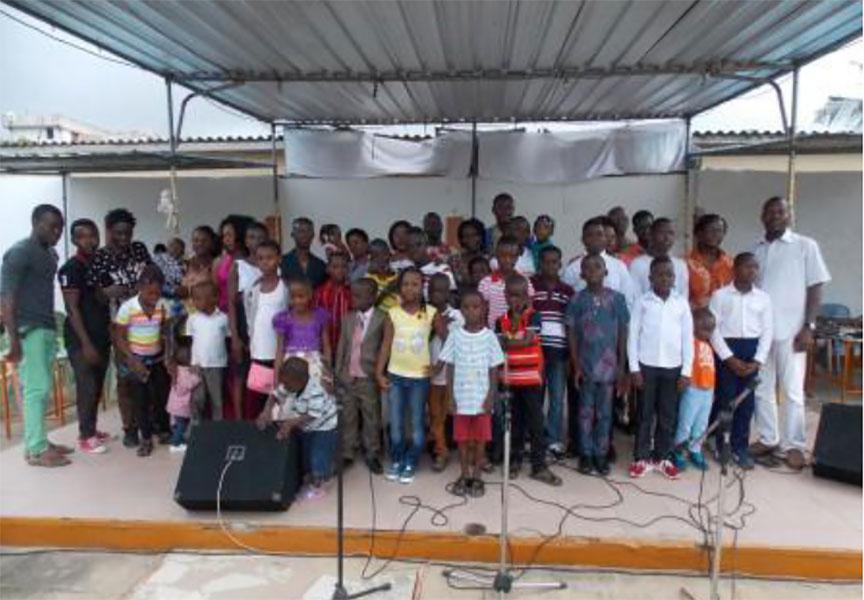 5ème EDITION DU PROJET « VACANCES CITOYENNES GRAINE » DE L'ONG SOL : LES ENFANTS RESTITUENT LES ACQUIS MUSICAUX LORS D'UN CONCERT