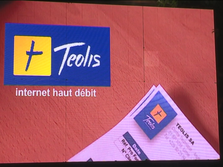 LANCEMENT RESEAU INTERNET TEOLIS