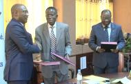 Signature de partenariat entre la CEB, l'Université de Lomé et EPAC