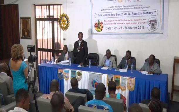 Les clubs Rotary œuvrent pour le bien-être sanitaire au Togo