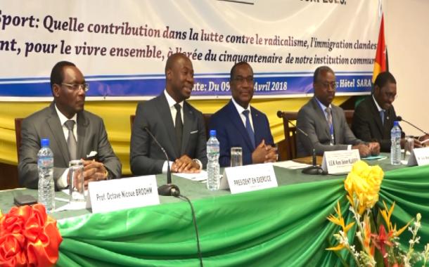 CONFERENCE DES MINISTRES DE LA JEUNESSE ET DES SPORTS DE LA FRANCOPHONIE