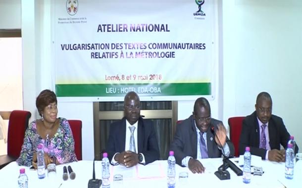 RENCONTRE NATIONALE DE VULGARISATION DES TEXTES COMMUNAUTAIRES RELATIFS A LA METROLOGIE