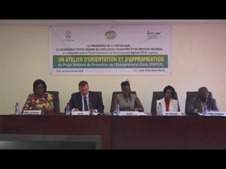 APPROPRIATION PROJET NATIONAL DE PROMOTION DE L'ENTREPRENEURIAT RURAL