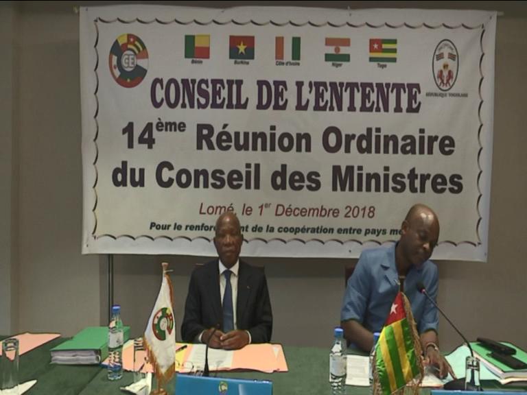 14e REUNION ORDINAIRE DU CONSEIL DES MINISTRES/CONSEIL DE L'ENTENTE