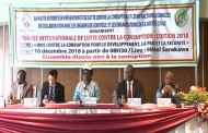 JOURNEE INTERNATIONALE DE LUTTE CONTRE LA CORRUPTION