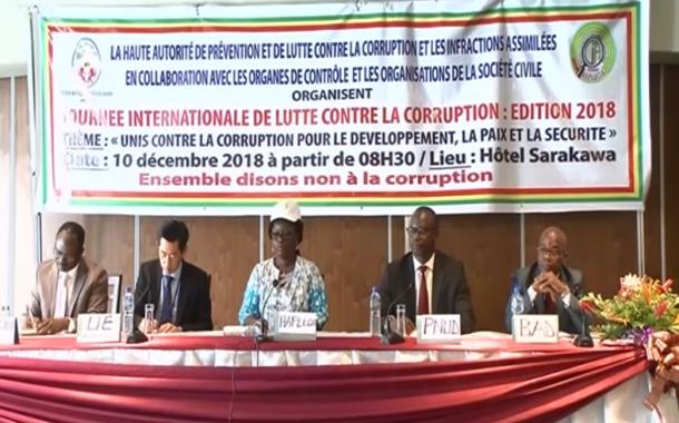 JOURNEE INTERNATIONALE DE LUTTE CONTRE LA CORRUPTION