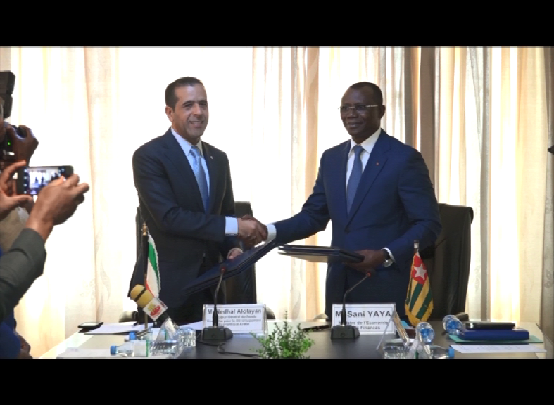 SIGNATURE ACCORD DE PRÊT/TOGO/FONDS KOWEÏTIENS