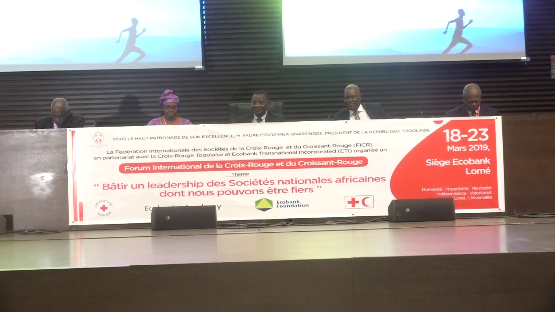 FORUM INTERNATONALE SUR BATIR UN LEADERSHIP DES SOCIETES AFRICAINES/CROIX ROUGE
