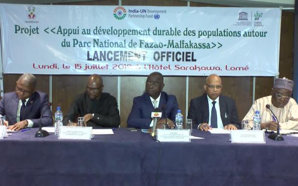 LANCEMENT PROJET APPUI AU DEVELOPPEMENT DURABLE DES POPULATIONS