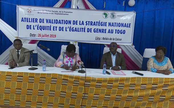VALIDATION STRATEGIE NATIONALE ENQUETE/EQUITE GENRE AU TOGO