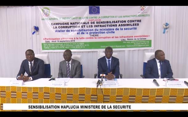 SENSIBILISATION HALPLUCIA/ MINISTERE DE SECURITE