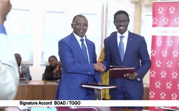 SIGNATURE ACCORD BOAD-TOGO
