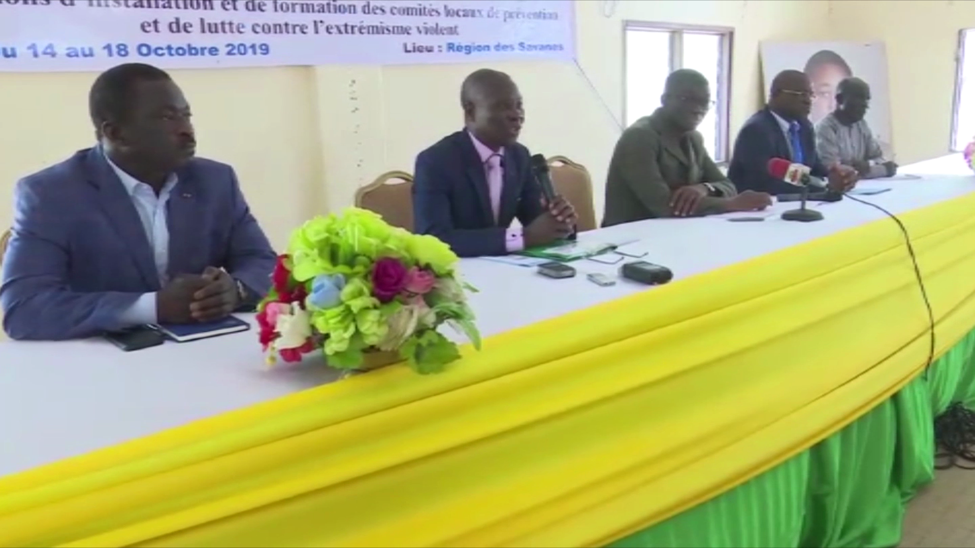 INSTALLATION COMITES LOCAUX DE PREVENTION ET DE LUTTE CONTRE L'EXTREMISME VIOLENT/SAVANES