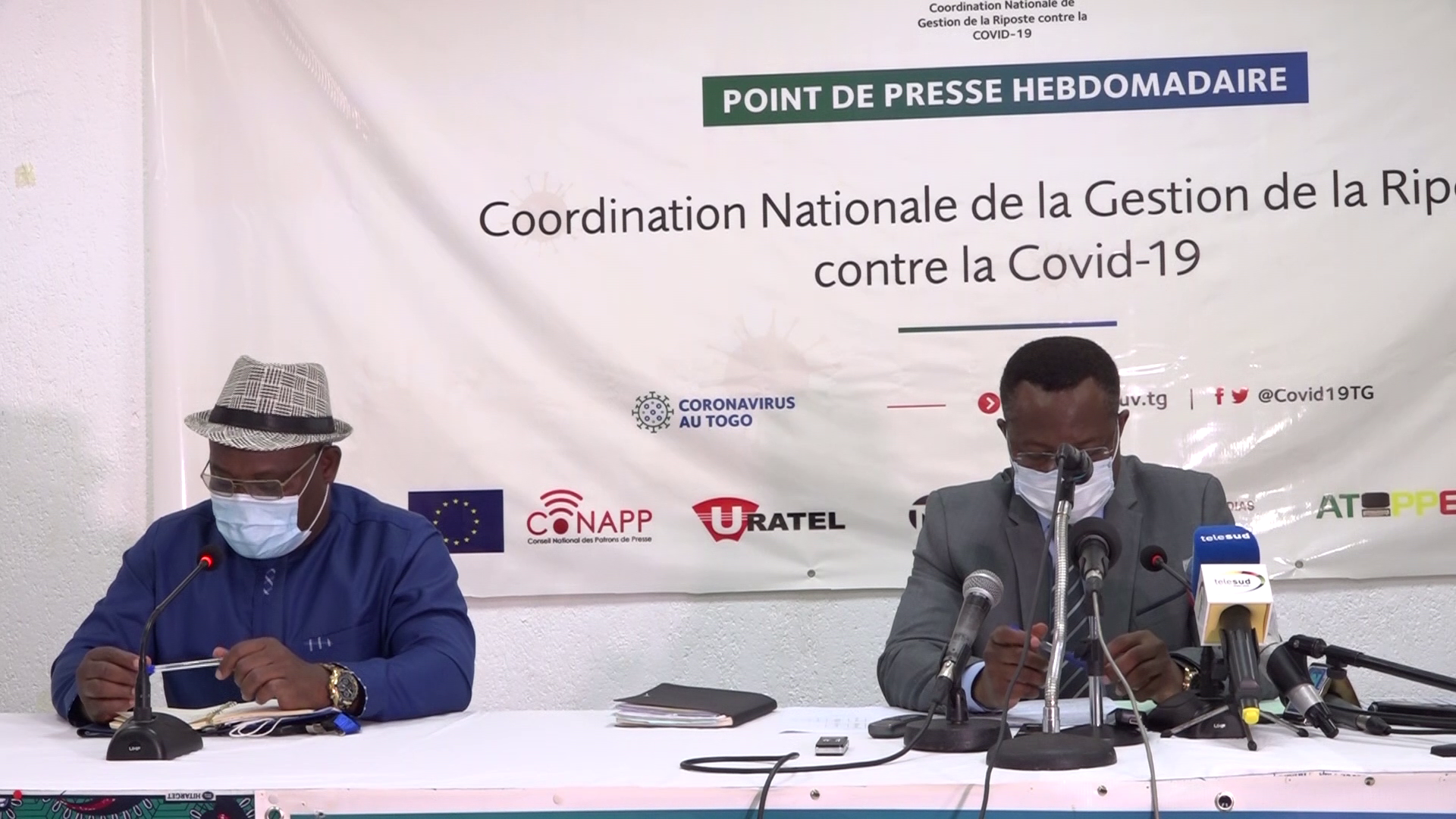CONFERENCE DE PRESSE COORDINATION NATIONALE RIPOSTE COVID 19