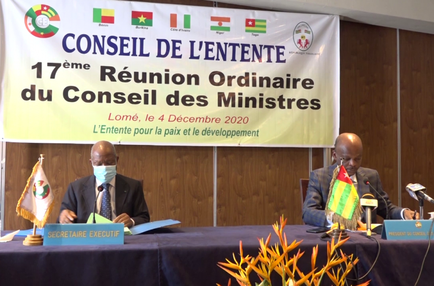 17e SESSION ORDINARE/CONSEIL DES MINISTRES DU CONSEIL DE L'ENTENTE