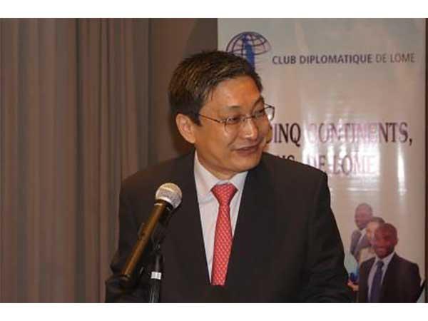 CLUB DIPLOMATIQUE DE LOME : L'AMBASSADEUR DE CHINE AU TOGO EXPLIQUE LE CONCEPT « CONSTRUIRE UNE COMMUNAUTE DE DESTIN POUR L'HUMANITE »