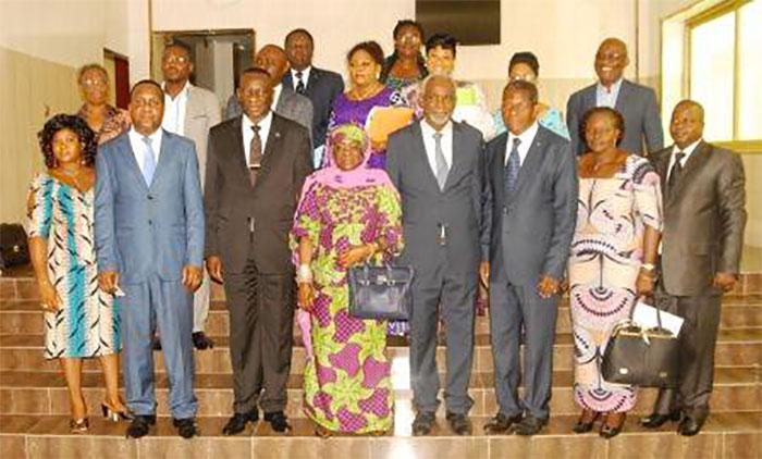 CONSOLIDATION DE L'ETAT DE DROIT ET DE LA DEMOCRATIE : UNE DELEGATION DE LA RDC A LOME POUR UN ECHANGE D'EXPERIENCE AVEC LE HCRRUN