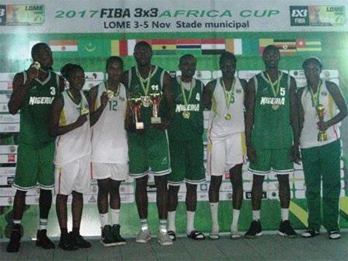BASKETBALL/FIBA 3X3 AFRICA CUP 2017: LE NIGERIA (HOMME) ET LE MALI (DAMES) S'ADJUGENT LES TROPHEES DE LA 1ère EDITION