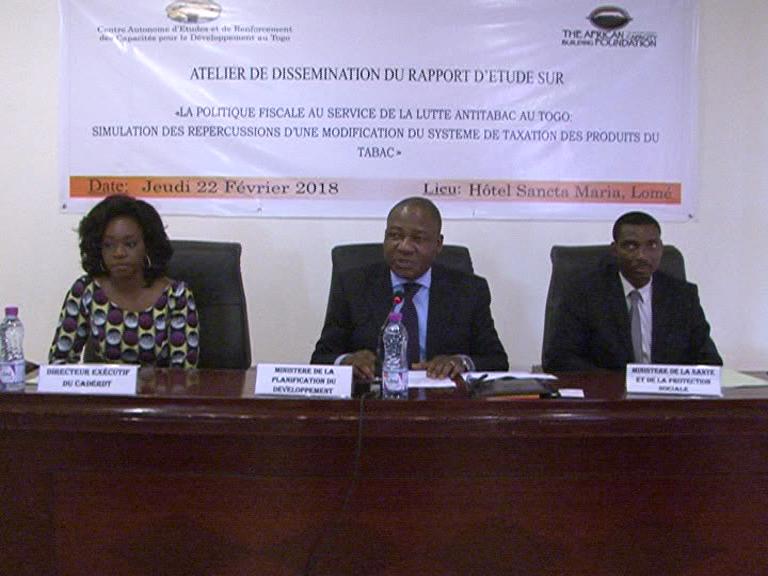 La politique fiscale au service de la lutte anti-tabac au Togo