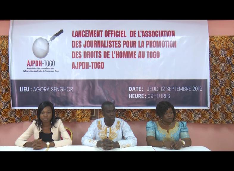 LANCEMENT ACTIVITE JOURNALISTE POUR LA PROMOTION DES DROITS DE L'HOMME