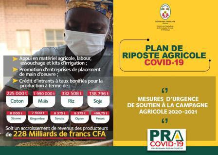 LE GOUVERNEMENT MET EN OEUVRE UN PLAN DE RIPOSTE AGRICOLE