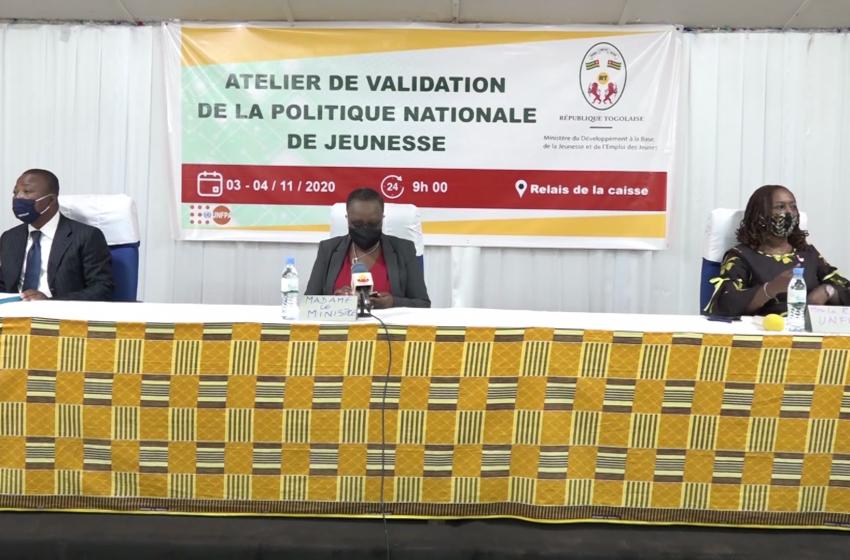 ELABORATION NOUVELLE POLITIQUE DE LA JEUNESSE