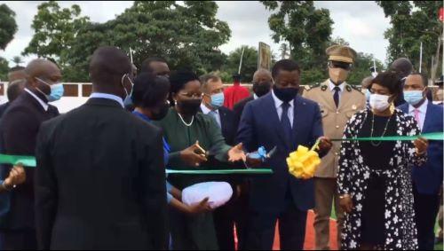 Le chef de l'Etat Faure GNASSINGBE inaugure l'IFAD-BTP d'Adidogomè