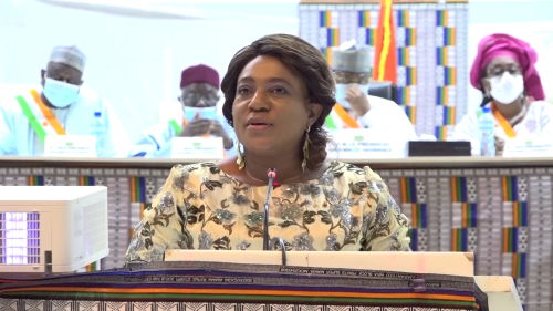 2eme session ordinaire du parlement du Niger : Yawa Djigbodi TSEGAN y a pris part